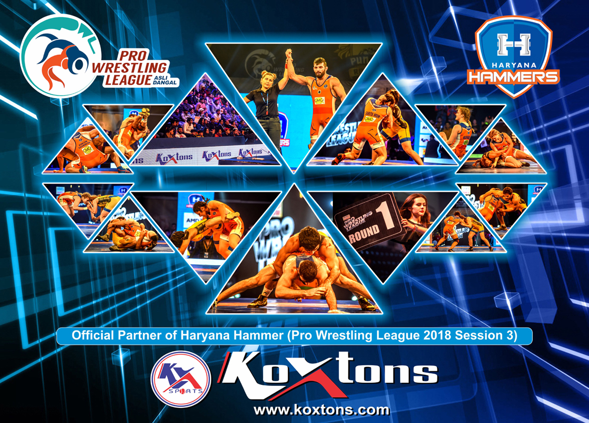 Offical Partner Of Haryana Hammer(Pro Wrestling League 2018 Session 3)