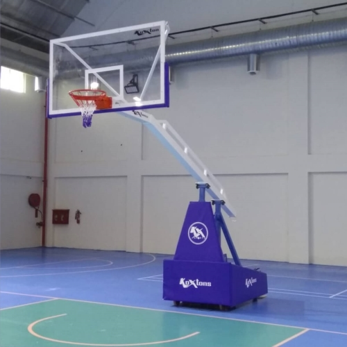 Basketball Post Premium with Spring Loaded System