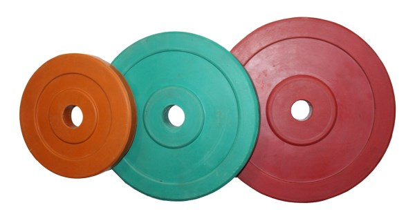 Weight Plates Rubber - Coloured