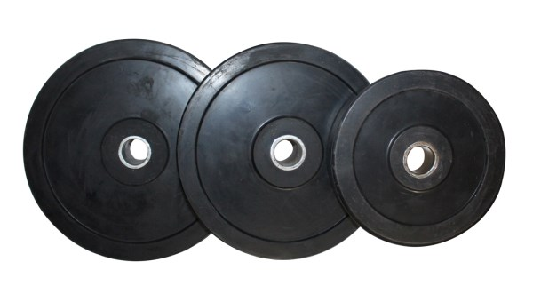 Weight Plates Rubber - Black