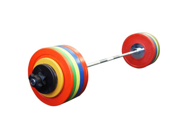 Olympic Barbell Set - Coloured