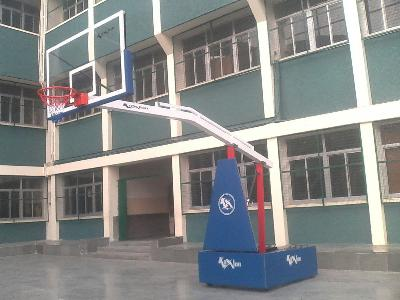 Basketball Goals  - Movable  Club (Manual jack System)